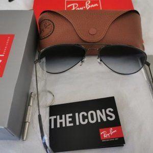 Ray-Ban Grey Sunglasses 3026 62mm